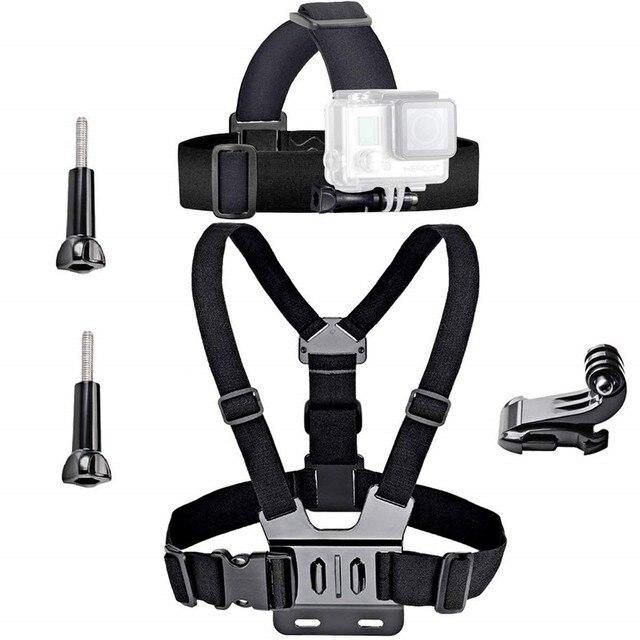 Set di accessori per azione universale per Gopro 7 6 Go Pro Kit di accessori per fotocamera