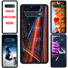For Samsung S10 / S10 Plus case Custom Personalized Make your Photo pattern images Hard Body Soft Side Phone Case Cover huaweinova3 case custom personalized make your photo pattern images hard body soft side phone case cover