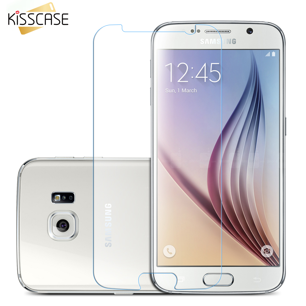 KISSCASE Screen Protector For Samsung Galaxy J5 2015 S5 A7 A5 A8 NOTE 4 High Clear Thin Tempered Glass Film Protector Film