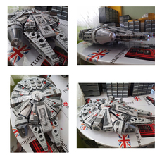 1381 Pcs Lepin Star Wars Millennium Falcon Figure Toys Building Blocks Set Marvels Minifigures Magformeres brinquedos legeod