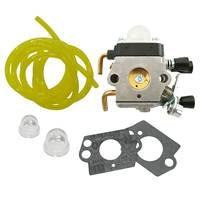 Carburetor 2 Primer Bulbs 2 Carburetor Gasket For Stihl FS38 FS45 ZAMA C1Q