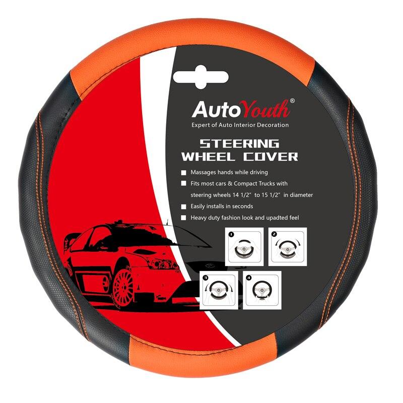 Steering Wheel Cover, Universal New Sports Style Anti-SLIP 5