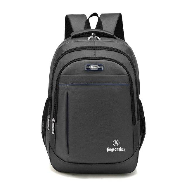 New shoulder bag Oxford cloth business computer backpack men's fashion large capacity leisure travel bag student bag 1