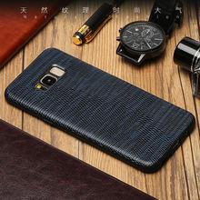 Чехол из натуральной кожи для телефона samsung s10 s8 s9 plus