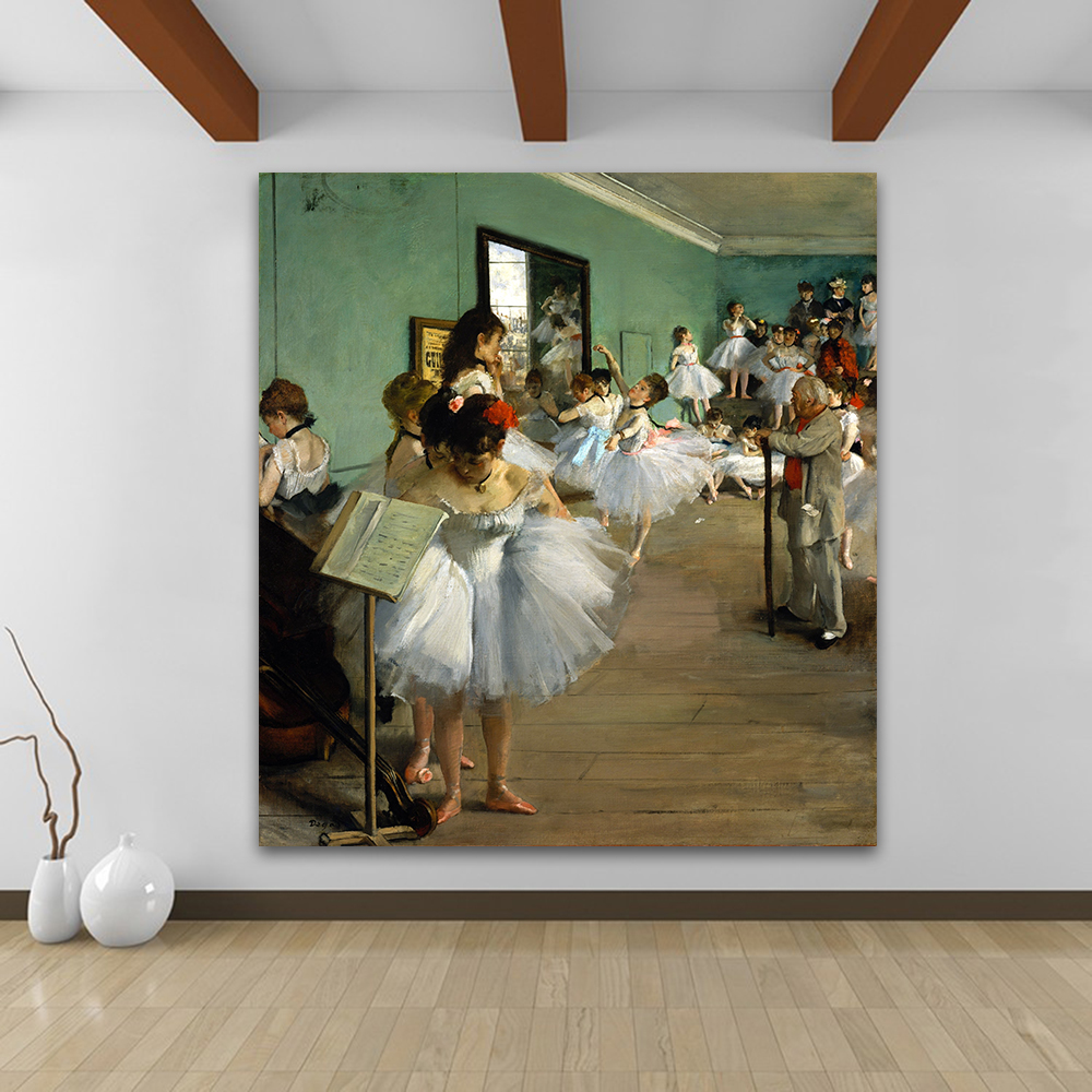 Home Decor Classes: Aliexpress.com : Buy JQHYART Figure Canvas Art Edgar Degas