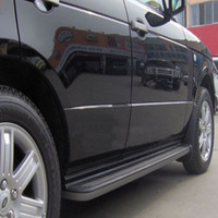 Wotefusi HOT Style Fits For Land Rover Range HSE 2010 2011 Black Steps Running Boards Side New [QP17]