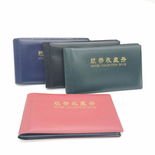 20 Pages photo Album Paper Money Holders Currency Banknote album for coins Collection Storage Pocket photoalbum Coin