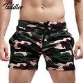 Taddlee marca mens shorts troncos bottoms curtas treino de carga ativa suspiro jogger sweatpants aptidão boxers shorts de algodão