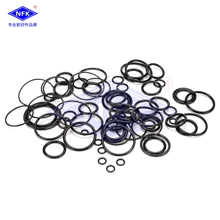 free shipping Excavator Control Valve / Distribution Valve Oil Seal Ring Repair kit  for kobelco  SK200-6E sk200 3 pump solenoid valve excavator replacement spare parts 5pcs lot free shipping