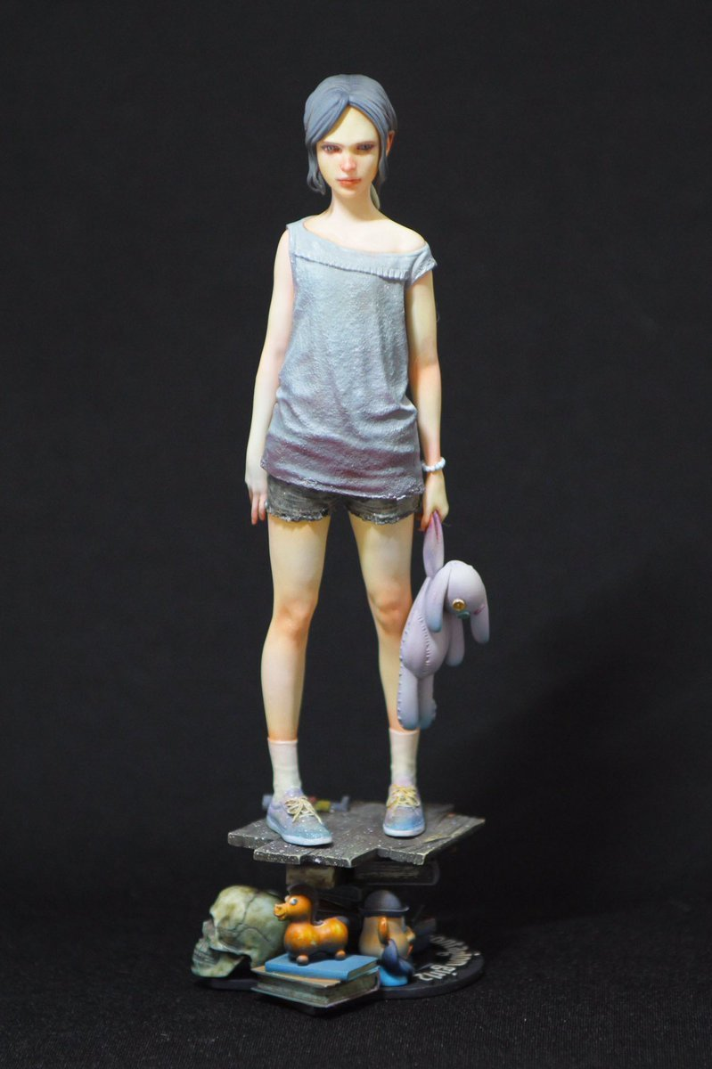 Resin Figure Kit 1 8 Virus Girl Model Kit Figure
