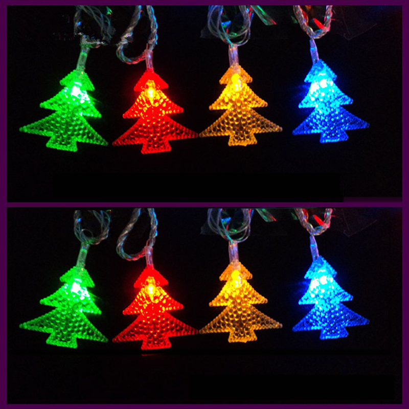 free shipping battery operated christmas light for christmas tree bedroom wedding garden party fairy light decoration colorfully in holiday lighting from