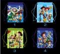 12 Unids Toy Story Niños de Dibujos Animados Impreso Con Cordón Escuela Viajan Mochila de Compras Bolsos de Fiesta de Regalos de Cumpleaños