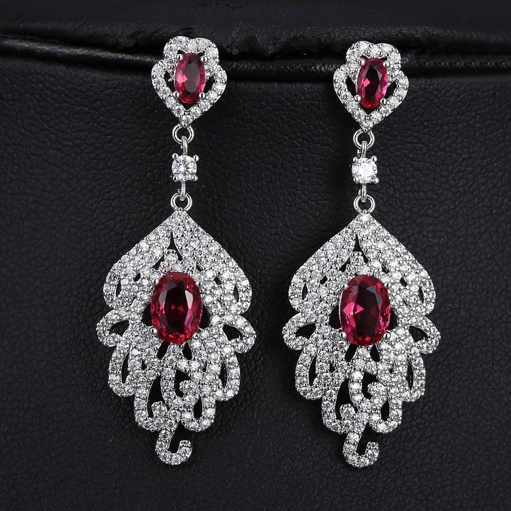 Crystal star strass rangée femmes oreille stud cuff crochet boucles d/'oreilles