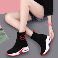 MYCORON 2018 осень зима новые роскошные модные женские туфли носок сапоги и ботинки для девочек ботильоны слипоны обувь на высоком каблуке