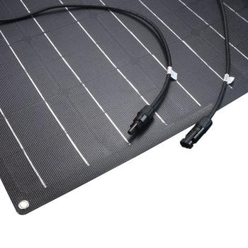 solar panel 300w 200w 100w 400w 18V 24V flexible solar panel For 12V  battery charger Monocrystalline cell 1000w home system kit 2