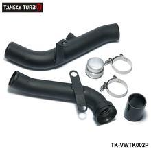 ТАНСКИЙ-Turbo Выпускной Трубы Преобразования Boost Pipe Kit Подходит Для VW Golf MK5/MK6/GTI/Scirocco/Audi TT/A3 2.0TSI TK-VWTK002P