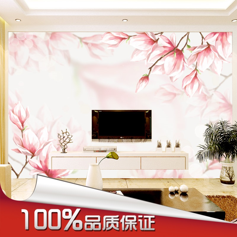 2016 New Hot Can be customized large murals 3 d visual wallpaper bedroom living room TV setting wall Chinese style flower art 1897art large murals3d can be custom made furniture decorative wallpaper house ornamentation decor wall stickers chinese style