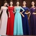 2017 Дешевые Красный Фиолетовый Розовый Aqua Royal Blue Ice Синий Желтый Длинные Платья Невесты Свадьба Платья Под 60