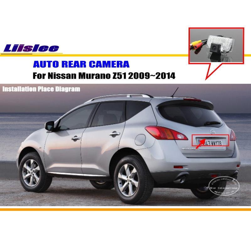 Liislee Автомобильная камера для Nissan Murano Z51/Nissan Quest RE52 2009~ /камера заднего вида/NTST PAL/лампа номерного знака OEM