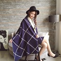 Women Winter Scarf 2017 Plaid Imitaition Cashmere Scarves New Designer Unisex Shawls Fashion Long Women's Scarf Luxury Brand