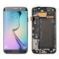 Белый синий золото Для Samsung Galaxy S6 Edge G925F ЖК-Дисплей С Сенсорным Экраном Дигитайзер полный Ассамблея с заменой кадров частей