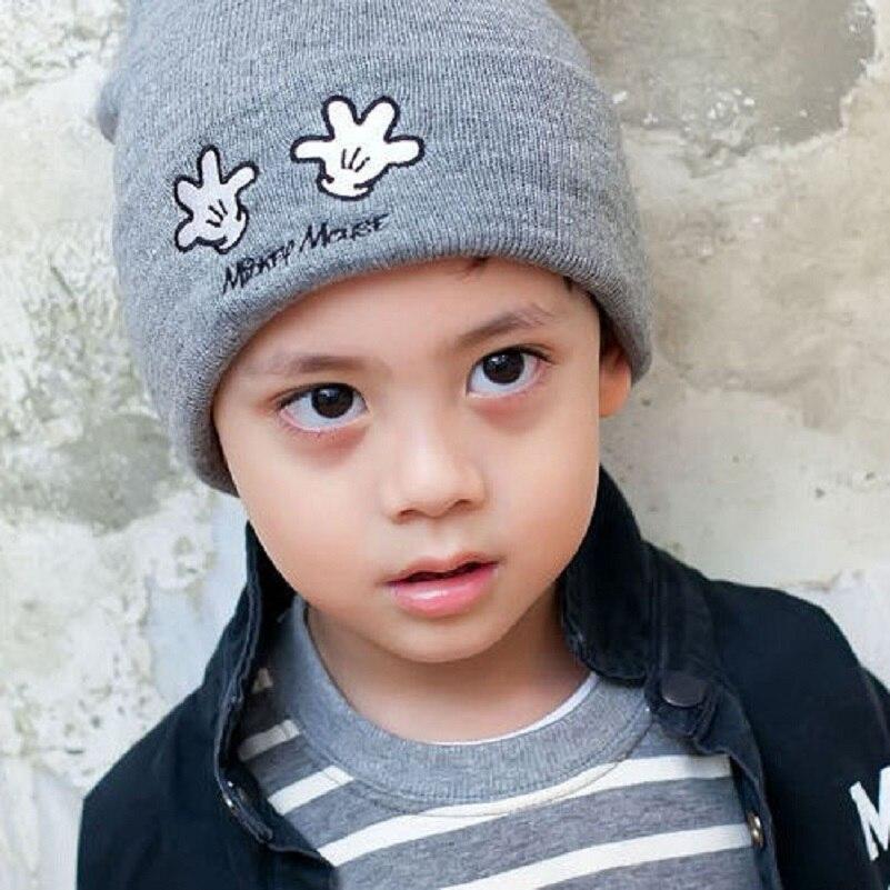 Mädchen Jungen Kleinkind Soft Cotton Mütze Cute Baby Knoten Warm Hat Beanie Hut