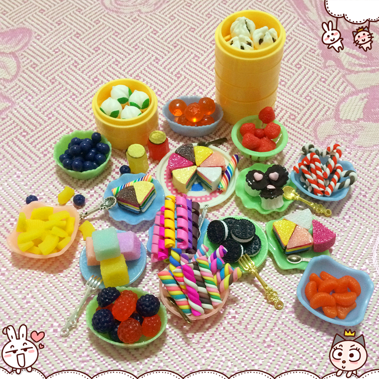 Cute Food Miniature Dollhouse Meal Drink Re Ment Megahouse