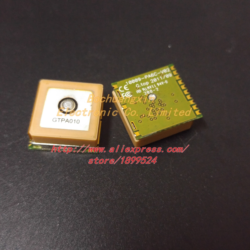 Free Shipping used 10pcs lot GTPA010 MT3339 PA6C G top010 FGPMMOPA6C 10009 PA6C V02 GPS Standalone