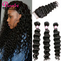 Peruvian Virgin Hair With Closure Peruvian Loose Wave With Closure 3 Bundles With Closure Queen Hair Curly Hair With Closure
