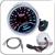 "2 "" 52 MM Universal Exhuast de temperatura do gás Car medidor de 200 - 1200 C medidor Auto White LED"