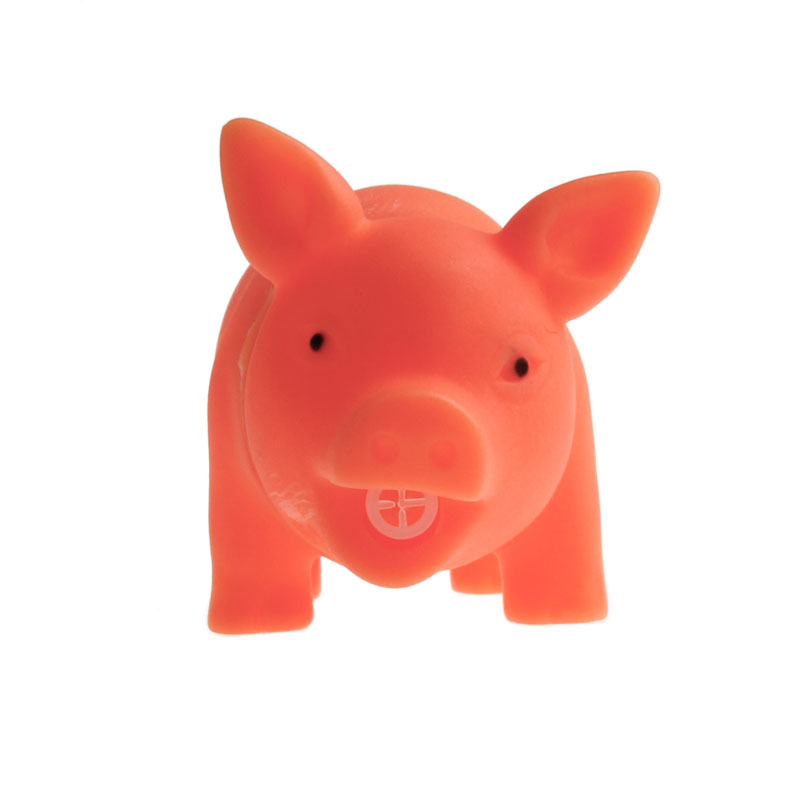 HBB Pet Puppy Supplies Chew Squeaker Squeaky Rubber For Dog Toys Play Sound Pig Children Gags & Practical Jokes Toy
