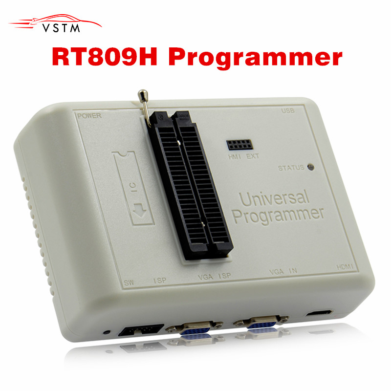 TOP Rated Original NEW PRODUCTS EMMC Nand FLASH Extremely fast universal Programmer RT809H Free Shipping