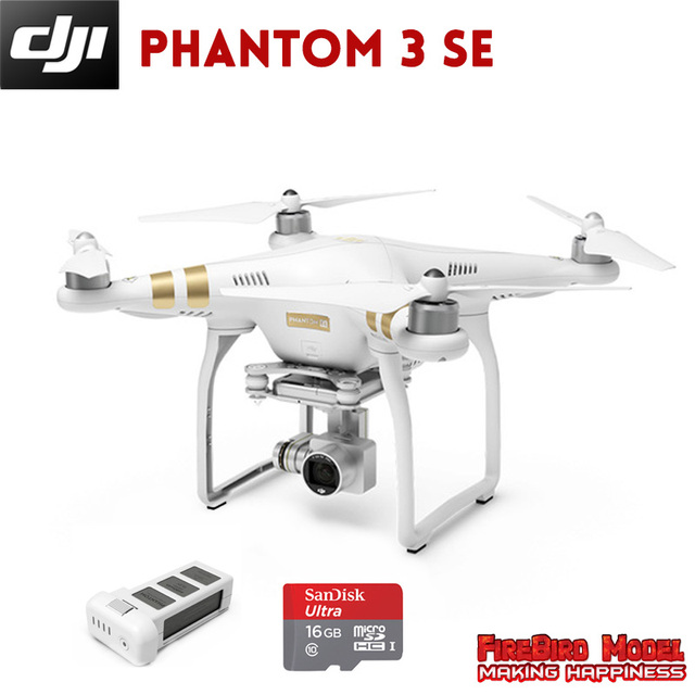 Original Dji Phantom 3 Se Rc Drone With 4k Full Hd Camera Build In