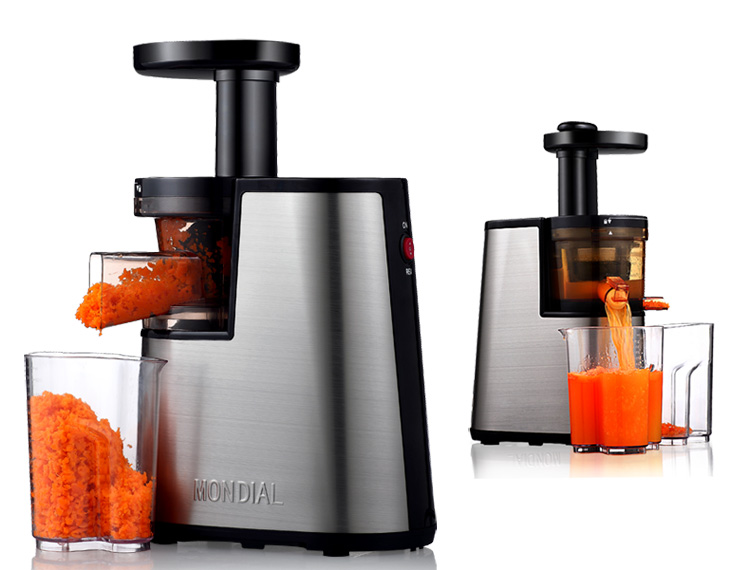 Slow Juicer Mondial : 2nd Generation 100% Original Elite MONDIAL SJ-06 Slow Juicer Fruit vegetable Citrus Low Speed ...