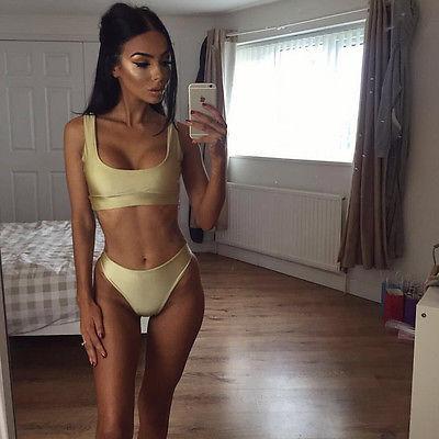 13% Off! Brazilian bikini Swimwear Women Bikini Set Swimsuit Halter Beach Biquini Bathing suit female bikini swimming suit
