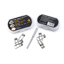 8pcs/pack Original GeekVape N80 Fused Clapton Coil 2 In 1 RDA RTA RDTA Atomizer Tank DIY Coil Electronic Cigarette Accessory