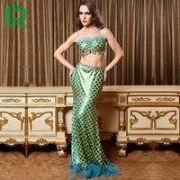Adult Women Fantasia Mermaid Tail Costume Sexy Adult Ariel Mermaid Dress Cosplay Sea Maid Halloween Costume For Girl