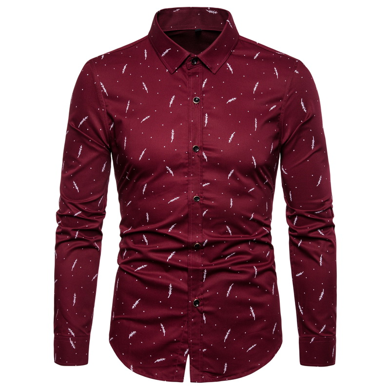 2020 Fashion Brand Designer Shirt Mens High Quality Slim Fit Street Wear Long Sleeve Dress Shirt Cotton 5xl Casual Clothes