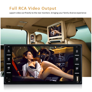 "Image 5 - AMPrime 7 ""רכב רדיו אודיו רדיו 2din מסך מגע מולטימדיה לרכב Bluetooth MirrorLink אנדרואיד/IOS FM/AUX אחורי מצלמה MP5 נגן"