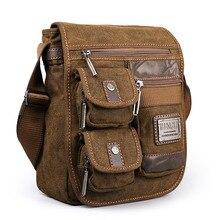 лучшая цена 2017 Ruil Vintage Retro Canvas Shoulder Bags New Multifunction Man Leisure Tooling Messenger Package Retro school Handbag