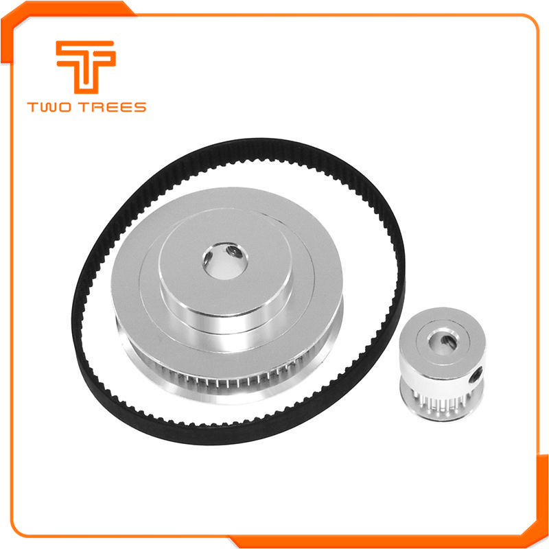 GT2 Timing Belt Pulley with 20/60 Teeth as 3D printer accessories 2