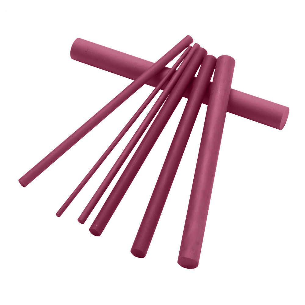 1Pc 2-10mm 3000 Grits Novo Abrasivo Polimento Apontador de Rubi Pedra de Óleo Cone Acessório Para Todas As Facas ferramentas da cozinha