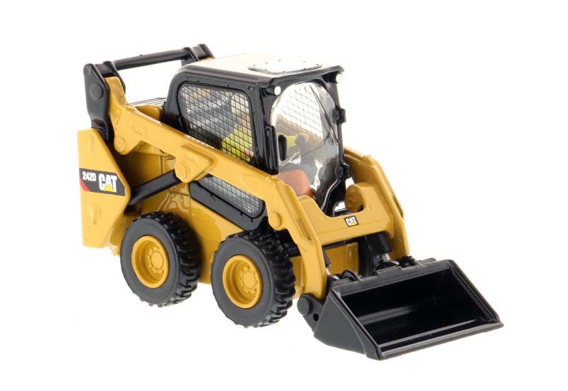 DM-85525 Cat 242D компактный погрузчик с бортовым поворотом игрушки