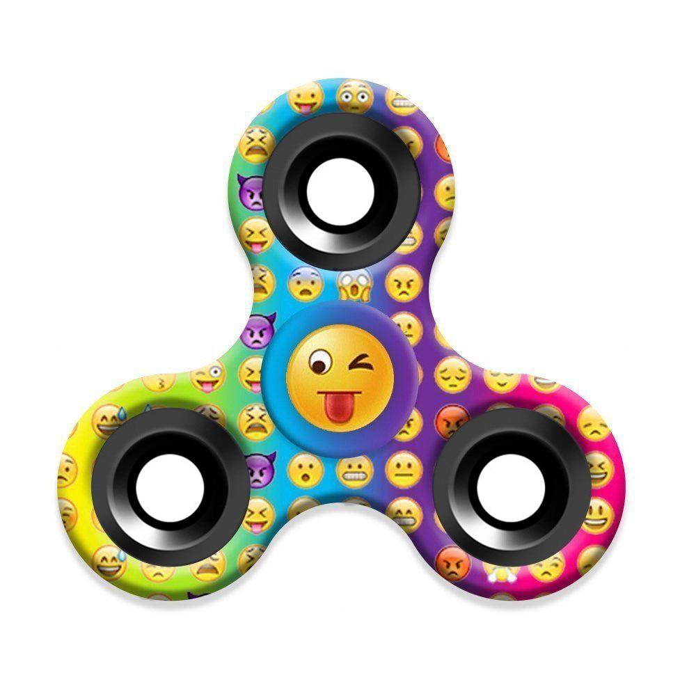 MUQGEW fidget spinner Finger Gyro Hand Spinner Emoji Toy