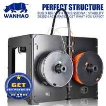 Благоприятное Цена 3 Dprinter, WANHAO Дубликатор 4S, двойной экструдер, Мульти-формы образцы изготовления печатной машины с нитями и ЖК-