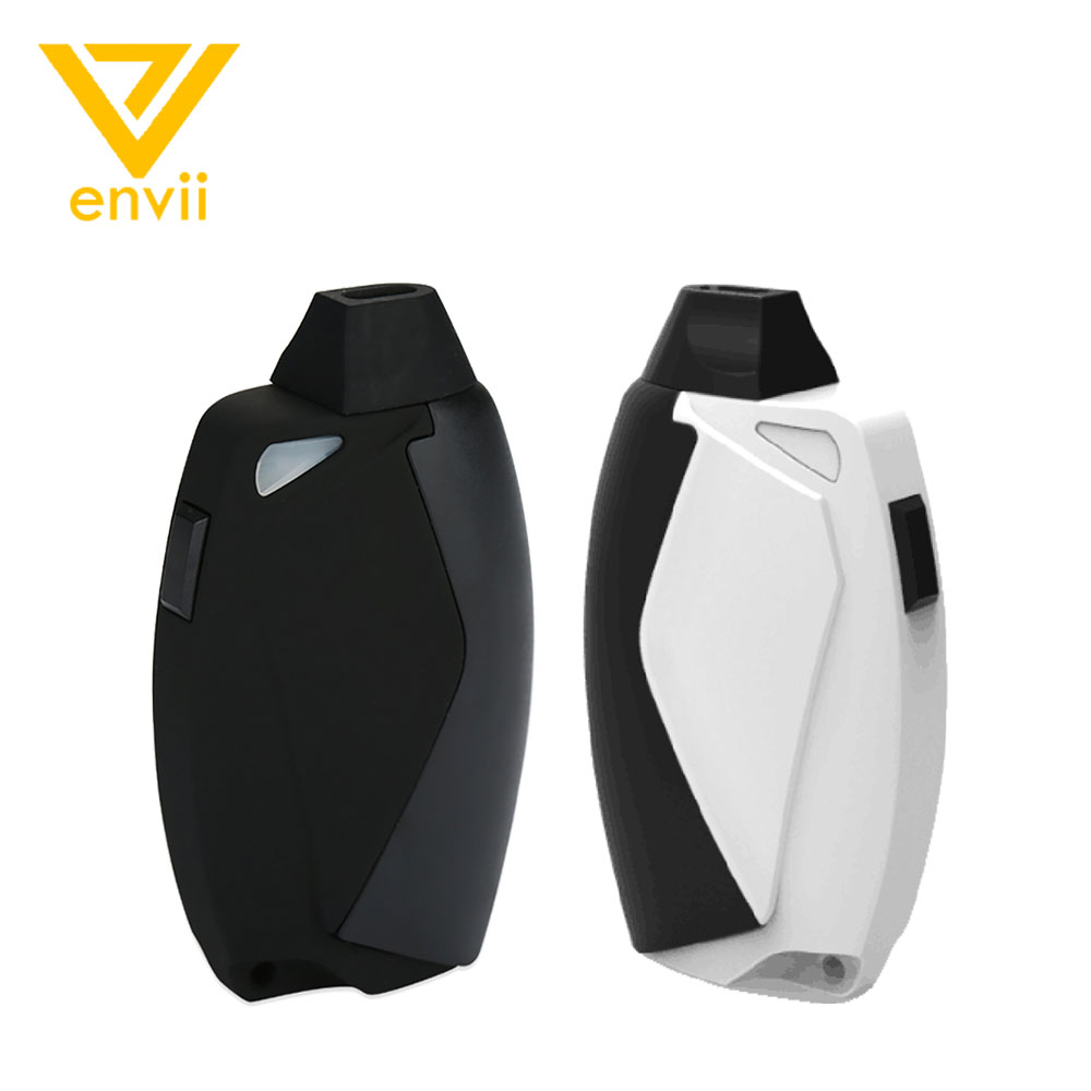 Original Envii FITT Starter Kit mit Eingebaute Batterie 650 mah & 3,2 ml/2 ml Kapazität Kompakte AIO Design e-zigarette Vape Pod Kit