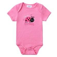 Baby Bodysuits Cotton Short Sleeve Bodysuit