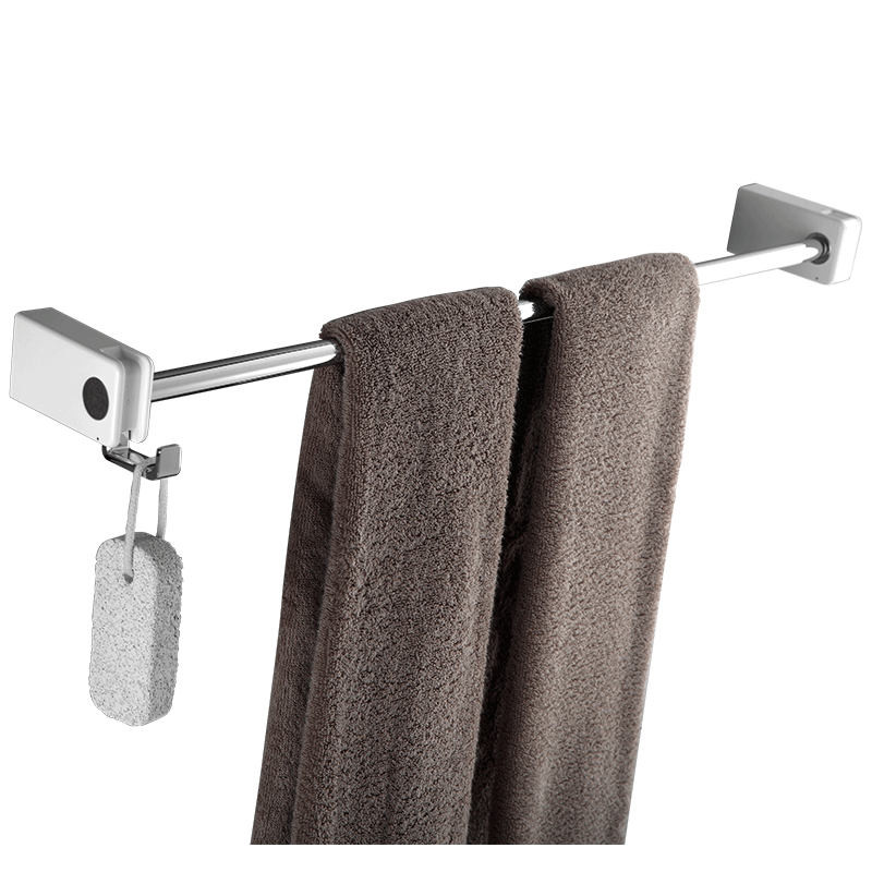 Towel rack bathroom Towel rack bathroom hardware accessories single pole bathroom stainless steel rack wall hanging bathroom towel racks wall hook bar double pole single pole rack bathroom