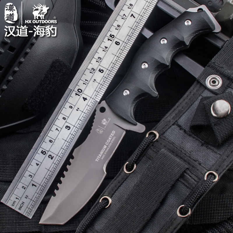 HX OUTDOORS 440C Blade K10 Handle Fixed Knife KYDEX Sheath Outdoor Survival Tactical Bushcraft Multitool Great Diving Knife цена и фото