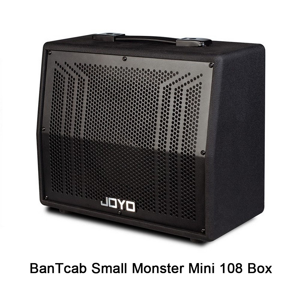 JOYO Guitar Amplifier Box banTcaB 20W Mini 108 Box Stereo Sound Amplifier Cabinet Musical Instruments Bass